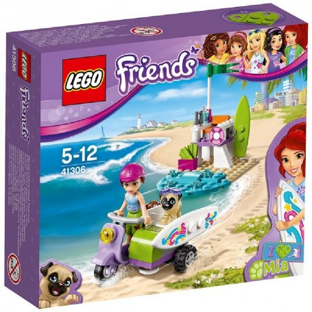 MOTO PLAYERA DE MIA 41306 LEGO FRIENDS