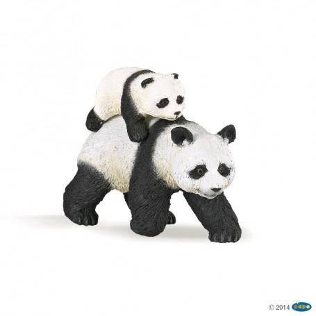 FIGURA PANDA CON BEBE ( PAPO ) 50071