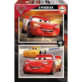 CARS 3 - 2 PUZZLES DE 48 PIEZAS