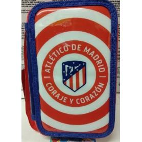 PLUMIER 3 PISOS ATLETICO DE MADRID
