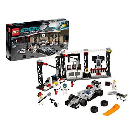 PUESTO DE REPARACIÓN DE MCLAREN MERCEDES LEGO 75911