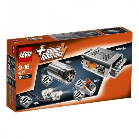SET DE MOTORES POWER FUNCTIONS LEGO 8293