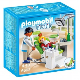 DENTISTA CON PACIENTE PLAYMOBIL 6662
