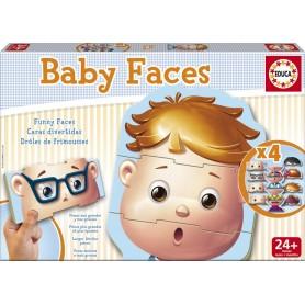 BABY FACES PUZZLE EDUCATIVO