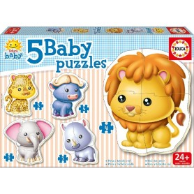 BABY PUZZLE ANIMALES SALVAJES