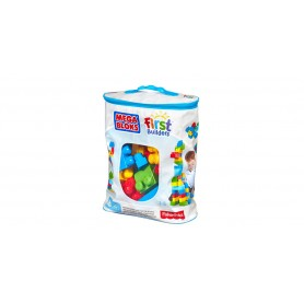 MEGA BOLSA 60 PCS FIRST BUILDERS MEGA BLOKS