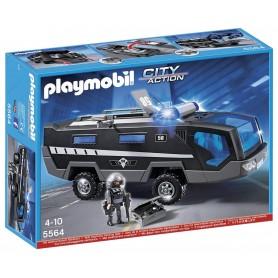 CAMION UNIDAD ESPECIAL DE POLICIA PLAYMOBIL 5564