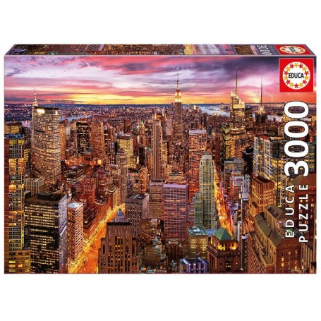 PUZZLE 3000 VISTAS DE MANHATTAN