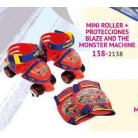 PATINES + PROTECCIONES BLAZE AND THE MONSTER MACHINES
