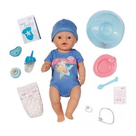 BABY BORN NIÑO INTERACTIVO