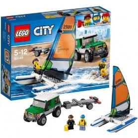 4X4 CON CATAMARÁN 60149 LEGO CITY