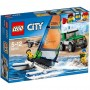 4X4 CON CATAMARÁN 60149 LEGO CITY