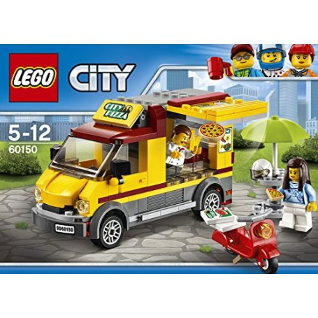 CAMIÓN DE PIZZA 60150 LEGO CITY