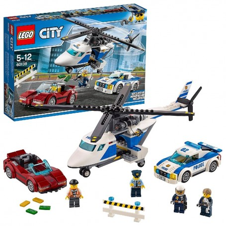 PERSECUCIÓN POR LA AUTOPISTA 60138 LEGO