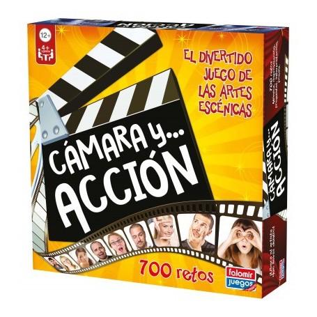 CÁMARA Y ACCIÓN - JUEGO DE MESA