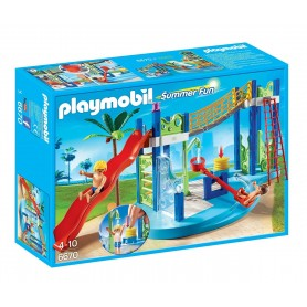 ZONA DE JUEGOS ACUÁTICA PLAYMOBIL 6670
