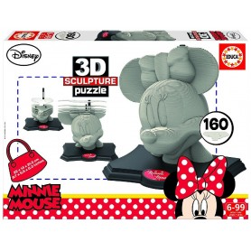 3D SCULPTURE PUZZLE MINNIE
