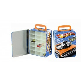 HOT WHEELS - MALETIN PARA COLECCIONAR COCHES