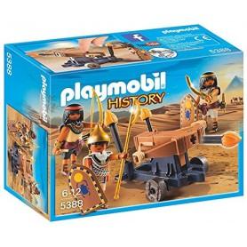 EGIPCIOS CON CATAPULTA PLAYMOBIL 5388