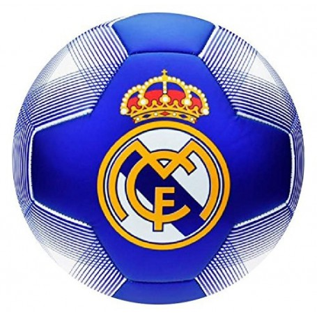 REAL MADRID BALON N2 GRANDE AZUL-BLANCO TALLA 5