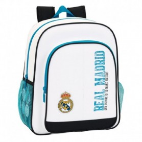 MOCHILA REAL MADRID ADPTABLE 2018 32X12X38CM