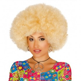 PELUCA AFRO RUBIA EXTRA