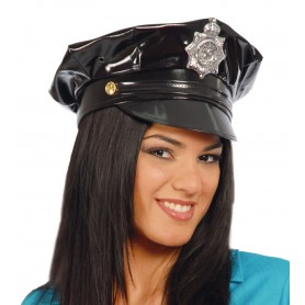 GORRA POLICIA VINILO