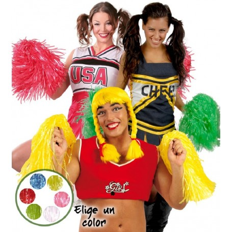 PACK 2 POM-POM COLORES DELUXE