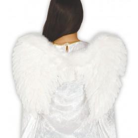 ALAS ANGEL PLUMAS BLANCAS 50 CMS