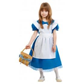 DISFRAZ BLUE LITTLE GIRL ALICIA 10-12 AÑOS