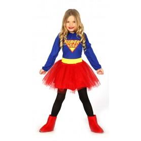 DISFRAZ SUPER HERO NIÑA 10-12 AÑOS