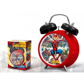 RELOJ DESPERTADOR SPIDERMAN 9CM