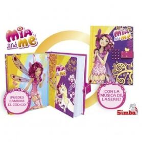 MÍA AND ME LIBRETA MUSICAL CÓDIGO SECRETO