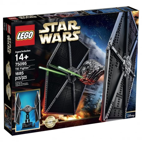 TIE FIGHTER STARWARS LEGO 75095