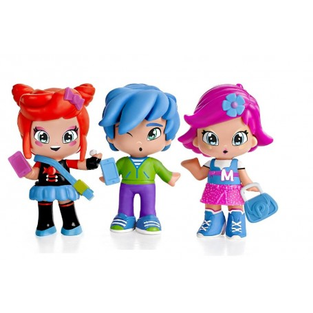 PINYPON BY PINY - PACK 3 FIGURAS (surtido: modelos aleatorios)