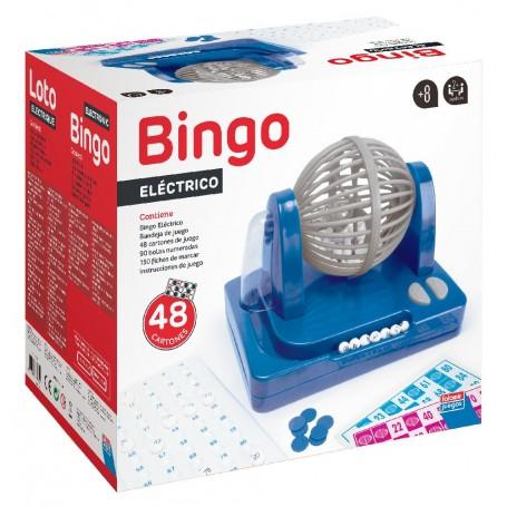 BINGO ELECTRONICO AUTOMATICO 48 CARTONES 90 BOLAS