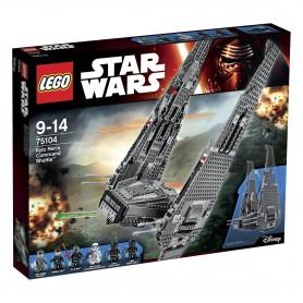 LEGO STAR WARS - NAVE DE COMBATE DE KYLO REN 75104