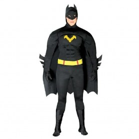 DISFRAZ BATMAN BLACK HERO ADULTO TALLA M