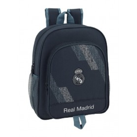 "MOCHILA JUNIOR ADAPTABLE CARRO REAL MADRID ""BLACK"""