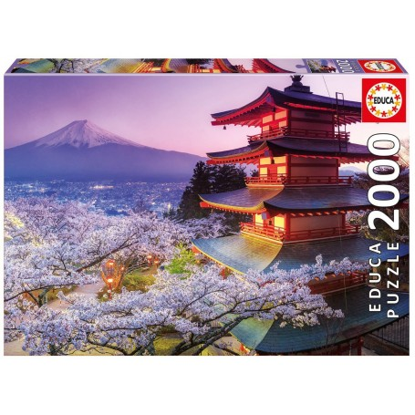 PUZZLE 2000 MONTE FUJI, JAPÓN