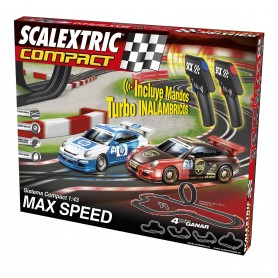 SCALEXTRIC COMPACT CIRCUITO COMPACT MAX SPEED INALAMBRICO