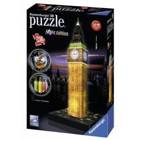 PUZZLE 3D BIG BEN NIGHT EDITION