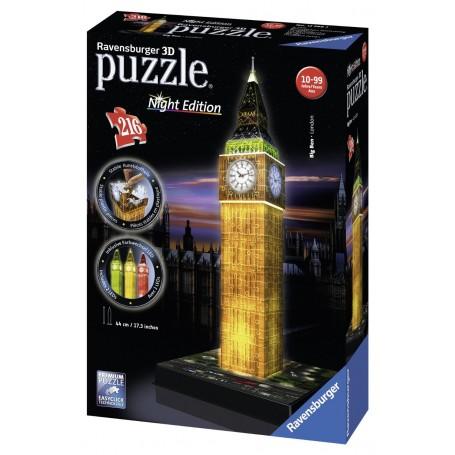 PUZZLE 3D BIG BEN NIGHT EDITION