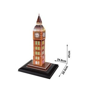 PUZZLE 3D BIG BEN LEDS 28 PCS