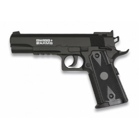PISTOLA SWISS ARMS P1911 MATCH CO2 SEMI-AUTO