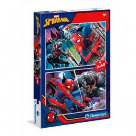 2 PUZZLES SPIDER-MAN 2X60 PIEZAS