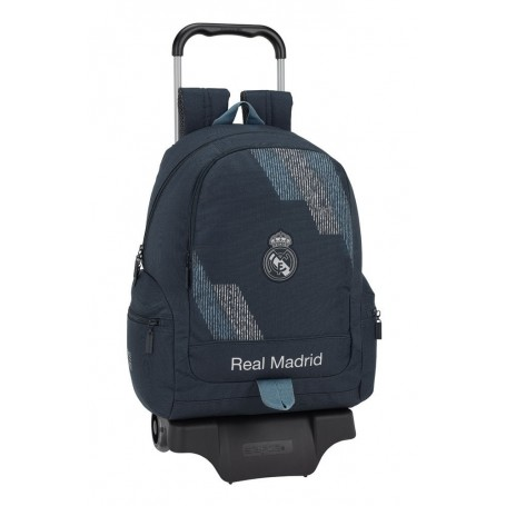 "MOCHILA CARRO REAL MADRID ""BLACK"""