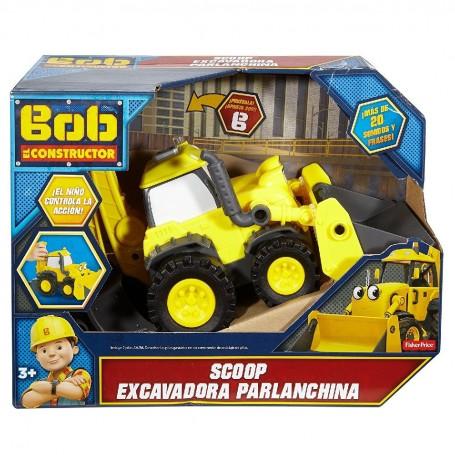 BOB EL CONSTRUCTOR - SCOOP EXCAVADORA PARLANCHINA