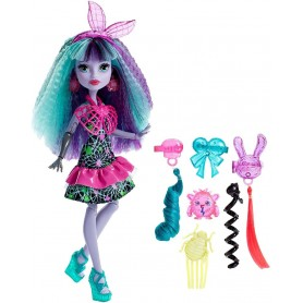 MONSTER HIGH - ELECTRO-PEINADOS TWYLA