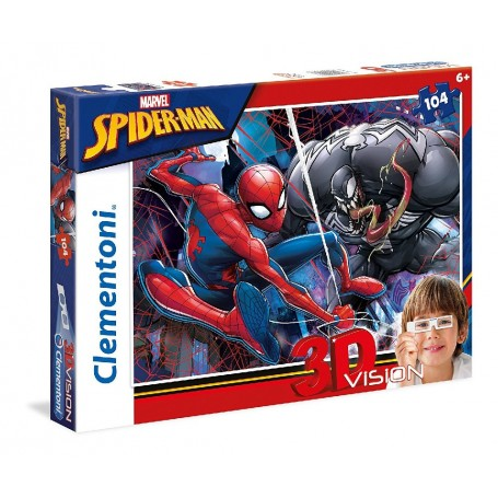 PUZZLE 3D SPIDERMAN 104 PIEZAS